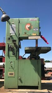 Grob Vertical Band Saw 18 W Work Light Blade Welder