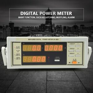 Lw 9901 Digital Power Meter With Bnc Connect Cable Ac110v 300v 20a Us Plug