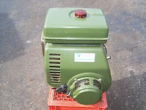 Nearly New Wisconsin Robin Ey27w 8hp Air Cooled Horizontal Shaft Engine Nice