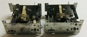 Used Pair Of 45 54 Mhz Tuning Assembly Variable Capacitors Coils Choke c22