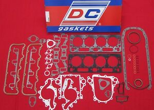 6 5 Diesel Engine Gasket Set Full All 6 5l Chevy Gmc W Head Gaskets 92 2002