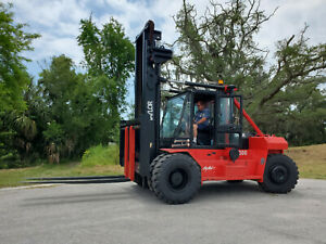 2006 Taylor T300m Forklift 30 000lb Capacity 8 Forks Side Shift Pneumatic Tires