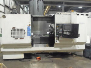 Hitachi Seiki Hicell 40 Cnc Lathe W Live Tooling Y Axis 90 Atc 60 Centers
