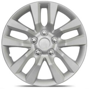 4pc Hub Caps Fits 06 13 Honda Civic 16 Inch Wheel Cover Rim Silver Skin