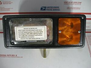 Western 61541 Fisher 8328 Blizzard 40557 Drivers Side Plow Light New No Hardware