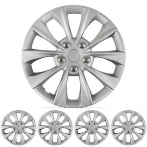 Carxs 16 Inch Hubcaps Best For 2007 2011 Toyota Camry Set Of 4 Wheel Covers Caps