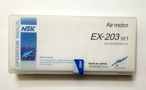 Nsk Low Speed Dental Handpiece Kit Ex 203c Set E type Midwest 4 Y100104