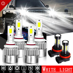 6x 6000k 9005 9006 Led Headlight H11 Fog Bulbs For Mitsubishi Lancer 2008 2015
