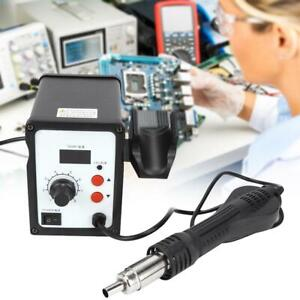 858d 700w Electric Led Hot Air Heat Gun Soldering Station Desoldering Tool