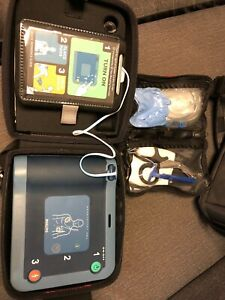 Philips Heartstart Frx Aed Defibrillator With Fast Response Kit Excellent