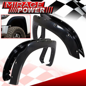 For 14 20 Tundra Jdm Riveted Style Bolt On Wheel Fender Flares Wide Body Trim