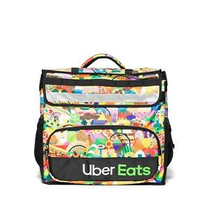 Uber Eats Delivery Insulated Backpack Limited Edition Artist Series Bag Melanie