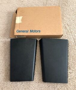 Gm Nos 68 69 Camaro Z 28 Ss Copo Zl1 Rs Pair Of Center Console Doors P N 3919069