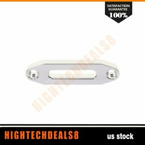 Winch Recovery Fairlead Hawse Guide Synthetic Cable Bolt Pattern 4 8 Atv Utv