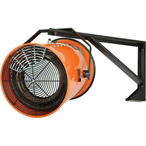 Electric Wall Mount Fan Forced Salamander Heater 480v 30 Kw 3 Phase 36 Amps