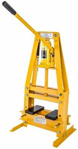 Jegs 81635 Hydraulic A Frame Shop Press 6 Ton Bench Top Mount Working Range Up
