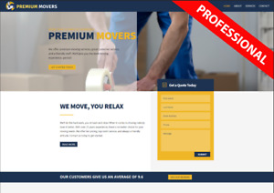 Moving Business Professional Moving Business Website Turn key Business