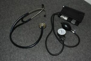 Prestige Medical Cardiology Stethoscope blood Pressure Monitor Cuff Excellent