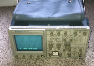 Tektronix 2445 Four Channel 150 Mhz Oscilloscope Works Great Fully Tested