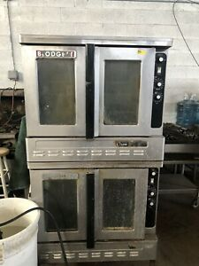 Blodgett Double Stack Convection Oven Natural Gas