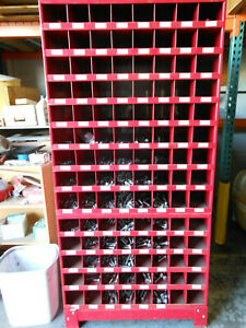 Hi line Steel Storage Cabinets 112 Compartments