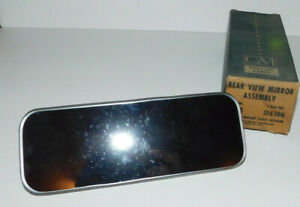 Nos Vintage Inside Rear View Mirror Gm 516506 1939 Through 1952 Chevy Cars