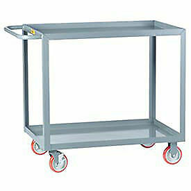 Little Giant All Welded Service Cart 2 Lip Shelves 24 X 48