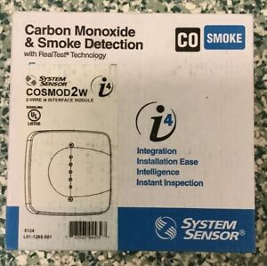 System Sensor Cosmo 2w Combination Carbon Monoxide And Smoke Detection New