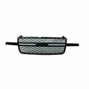 Grill Replacment Fit 2005 2007 Chevrolet Silverado 1500 2500hd 3500 Grille