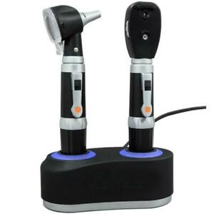 Otoscope Ophthalmoscope Set With Rechargeable Station