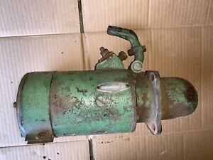 John Deere Early Styled A Top Mount Delco Remy Starter Works Good