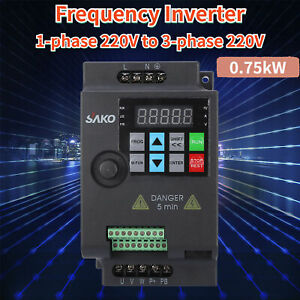 Ski780 7 5kw 220v 9 6a Vfd Variable Frequency Drive Inverter Ce Quality