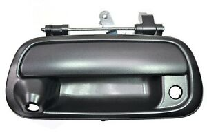 Fits 2000 To 2006 Toyota Tundra Tailgate Handle Textured Black With Camera Hole