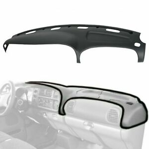 Grey Abs Dash Cover For Dodge Ram 98 99 00 01 02 Molded Dashboard Overlay Cap