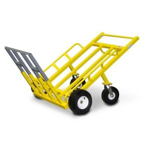 Monster Mover Commercial Dolly Heavy Duty Hand Truck 1200 Lb Capacity Usa