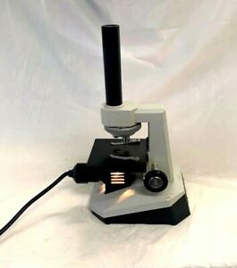 Parco Eps Lighted Student Compound Microscope 3 Powers Monocular