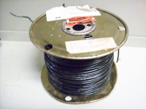 8 New Spool Of Electric Wire 14 Guage Solid 500 Black