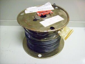10 New Spool Of Electric Wire 14 Guage Solid 500 Black
