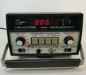 Sencore Lc53 z Meter Capacitor Inductor Analyzer Voltage Impedance