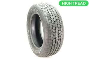 Used 275 55r20 Goodyear Wrangler All terrain Adventure Kevlar 113t 11 5 32