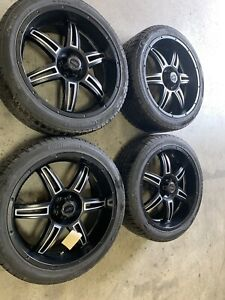 Used 22 Inchamerican Racing Wheels With Tires For Ford Truck