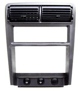 99 00 01 02 03 04 Ford Mustang Double Din Radio Dash Bezel