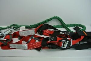 Buckyard Construction Safety Harness And Shock Absorbing Lanyard Large