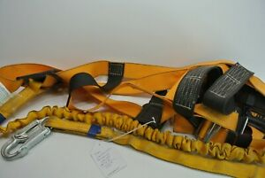 Titan Construction Safety Climbing Harness With Shock Absorbing Lanyard