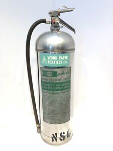 Automatic Badger Water Fire Extinguisher Water Or Loaded Stream Condition Used