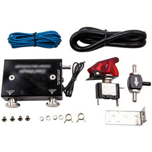 Universal Electronic Adjustable Car Turbo Boost Controller Line Kit Dual Stage