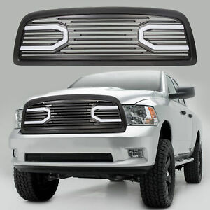 For 2009 2012 Dodge Ram 1500 Front Big Horn Black Packaged Grille shell