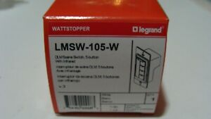 New Wattstopper Lmsw 105 w Dlm Scene Switch W infrared 5 Button white