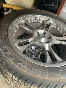 Double G Chrome 22 Inch Rims And Tires