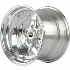 Jegs 66090 Sport Star 5 spoke Wheel Size 15 X 10 Bolt Pattern 5 X 5 Back Spaci